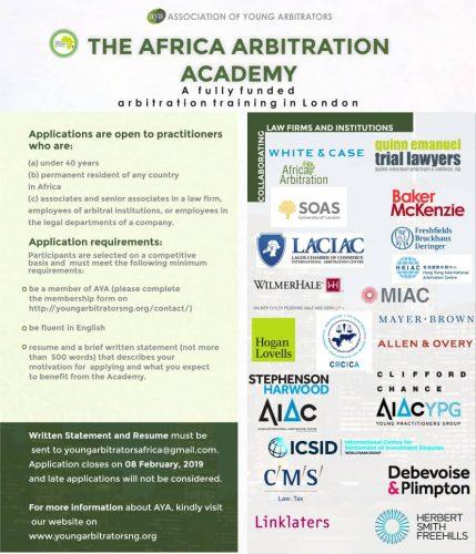 Academy application Flyer